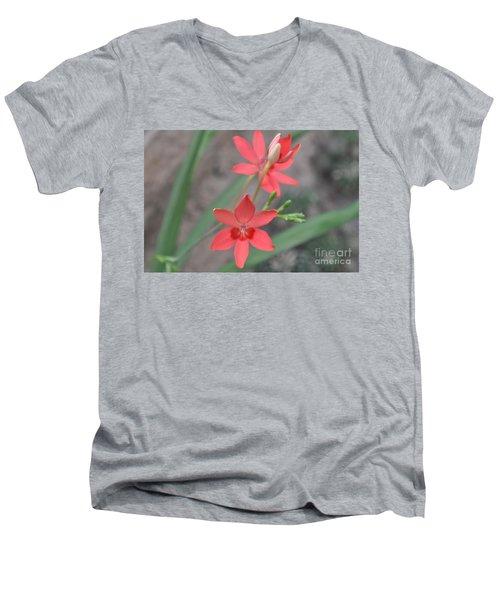 Floating Orchid Men's V-Neck T-Shirt