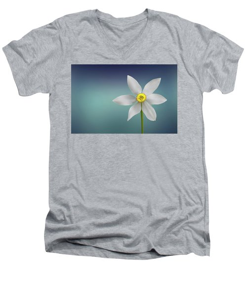 Flower Paradise Men's V-Neck T-Shirt