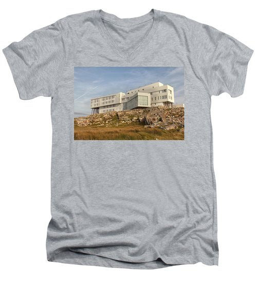 Fogo Island Inn Men's V-Neck T-Shirt
