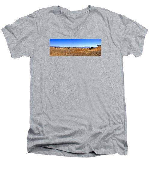 Foxen Canyon California Men's V-Neck T-Shirt by Chris Smith