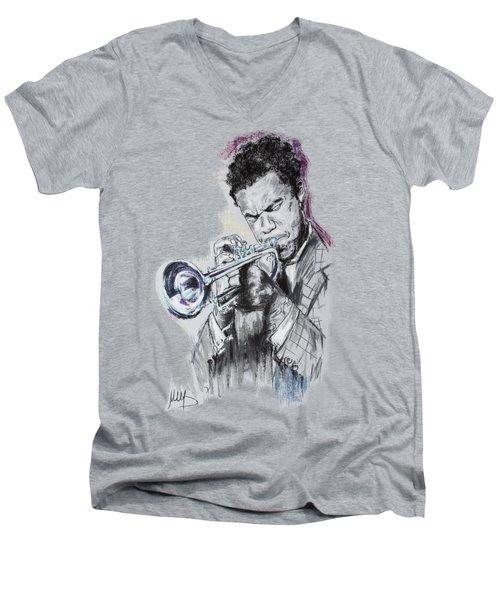 Freddie Hubbard Men's V-Neck T-Shirt