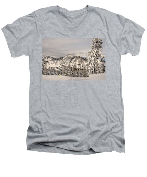 Fresh Snow Men's V-Neck T-Shirt