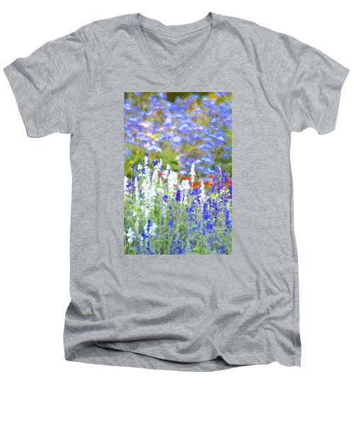 Garden Impression Men's V-Neck T-Shirt by Tim Good