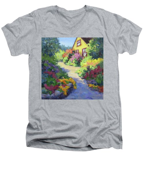 Garden Path Men's V-Neck T-Shirt
