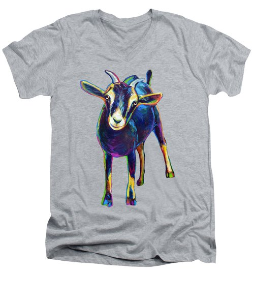 Gertie, The Goat Men's V-Neck T-Shirt
