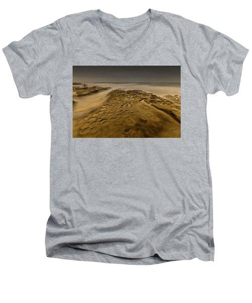 Ghost Photographer Men's V-Neck T-Shirt