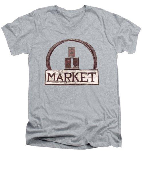 Going To The Market Men's V-Neck T-Shirt