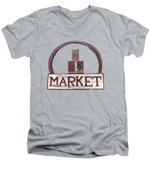 Going To The Market Men's V-Neck T-Shirt