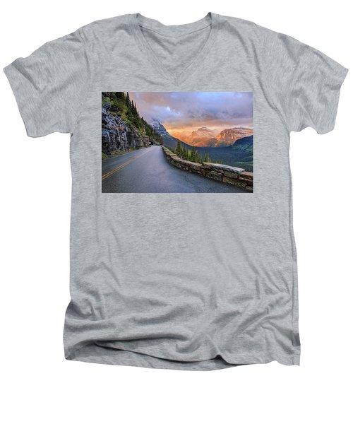 Going To The Sun Men's V-Neck T-Shirt