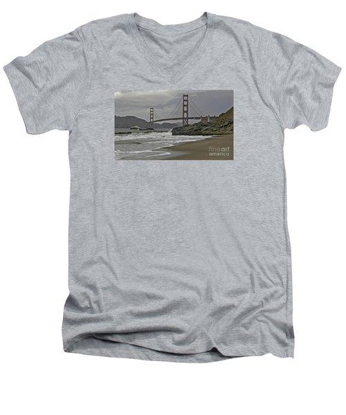 Golden Gate Study #1 Men's V-Neck T-Shirt