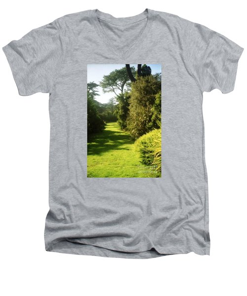 Golden Gate Park Plants Men's V-Neck T-Shirt
