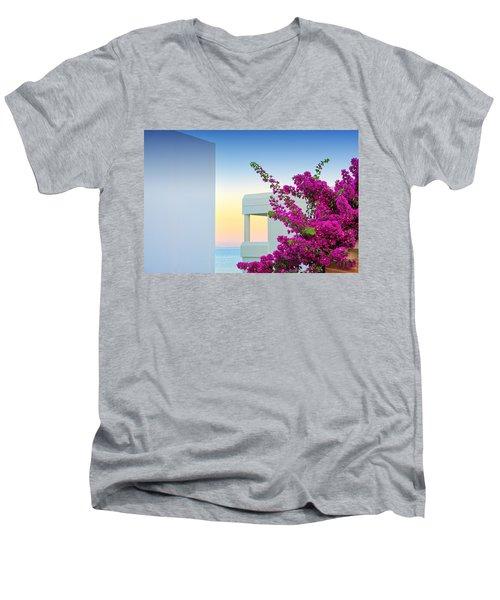 Greece 3  Men's V-Neck T-Shirt