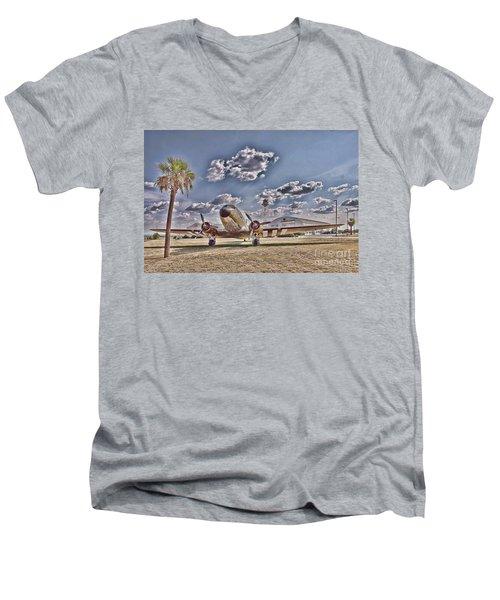 Hanger Hotel Men's V-Neck T-Shirt