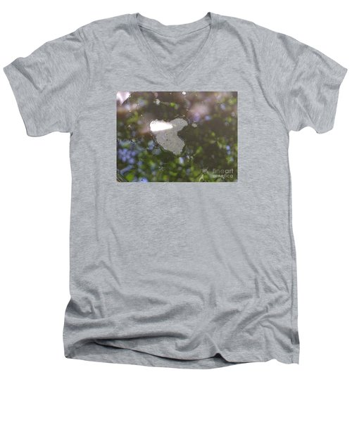 heART bubbles Men's V-Neck T-Shirt by Nora Boghossian