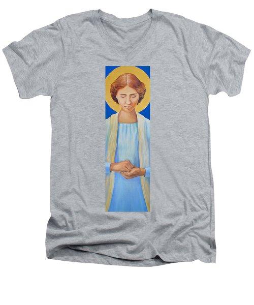 Helen Keller Men's V-Neck T-Shirt