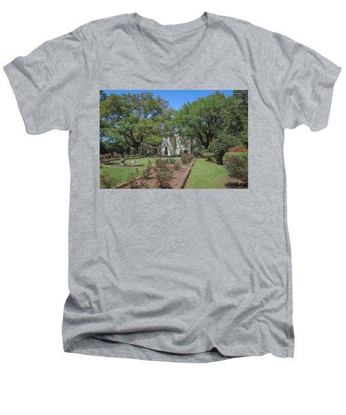 Heyman House Garden 5 Men's V-Neck T-Shirt