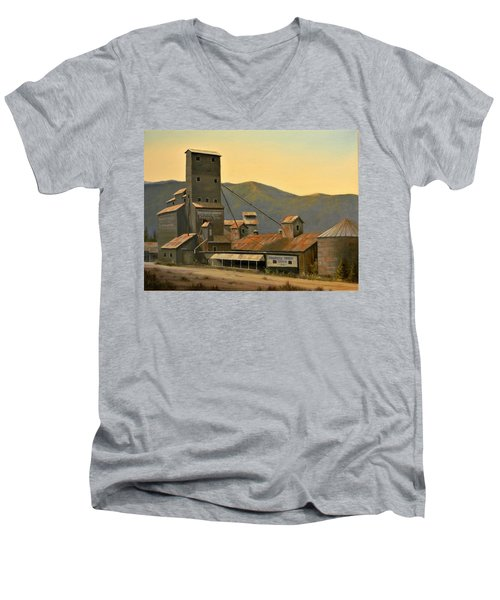 Hillbilly Highrise Men's V-Neck T-Shirt