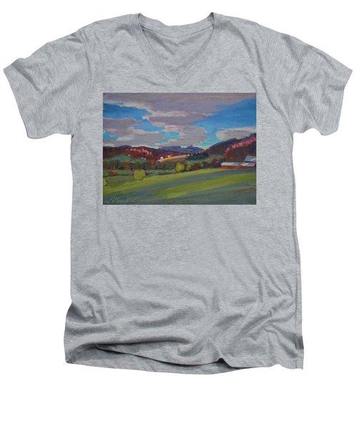 Hills Of Upstate New York Men's V-Neck T-Shirt