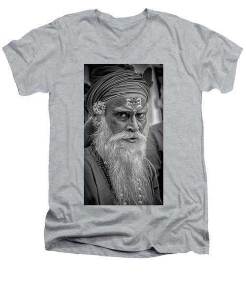 Holy Man Men's V-Neck T-Shirt