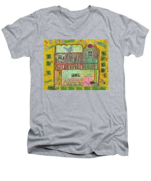 House #3 Men's V-Neck T-Shirt