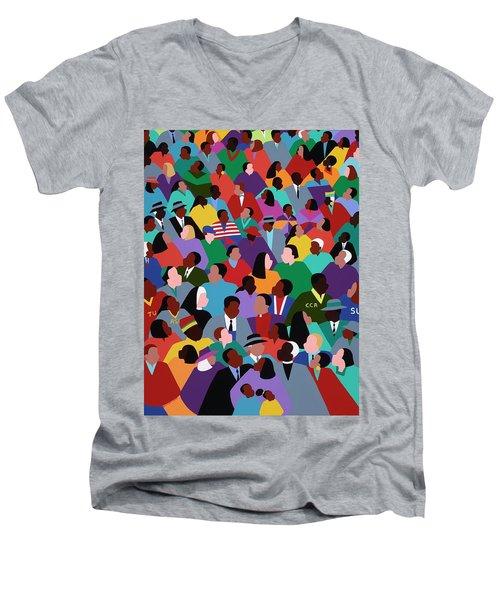 How Long Not Long Men's V-Neck T-Shirt
