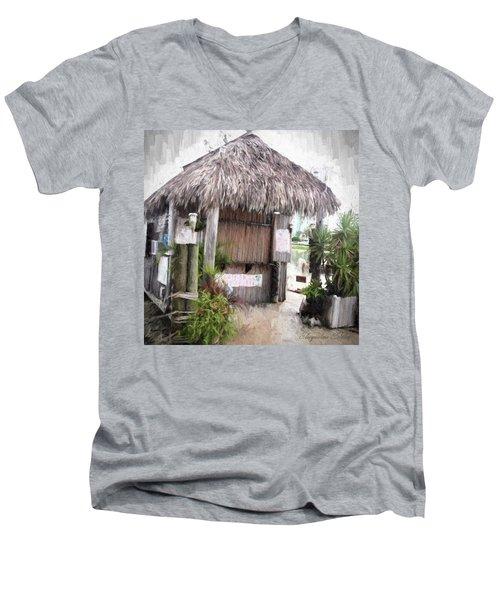 Hut Men's V-Neck T-Shirt