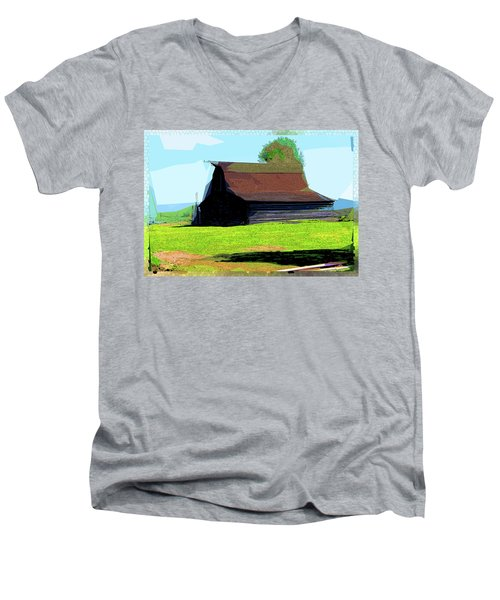 If Buildings Could Talk Men's V-Neck T-Shirt