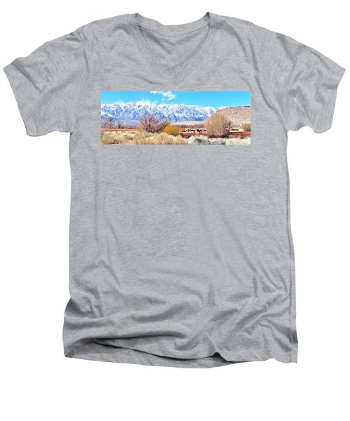 In The Valley Men's V-Neck T-Shirt