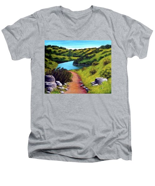 Inspiration Point Men's V-Neck T-Shirt