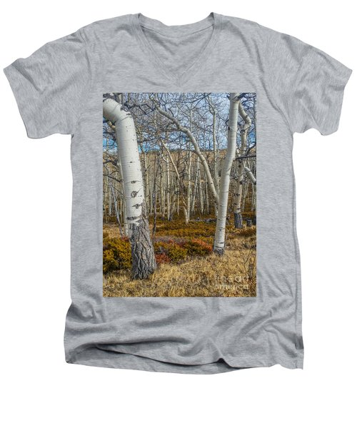 Into The Trees Men's V-Neck T-Shirt