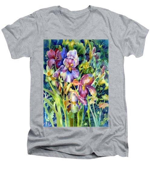 Iris II Men's V-Neck T-Shirt