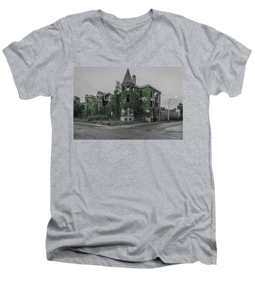 James Scott Mansion  Men's V-Neck T-Shirt