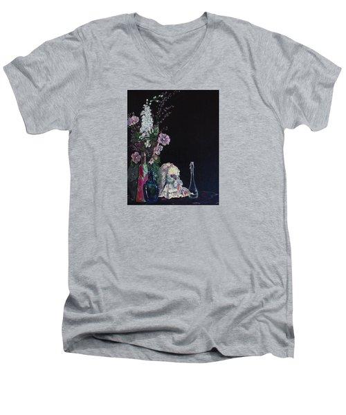 Jenibelle Men's V-Neck T-Shirt