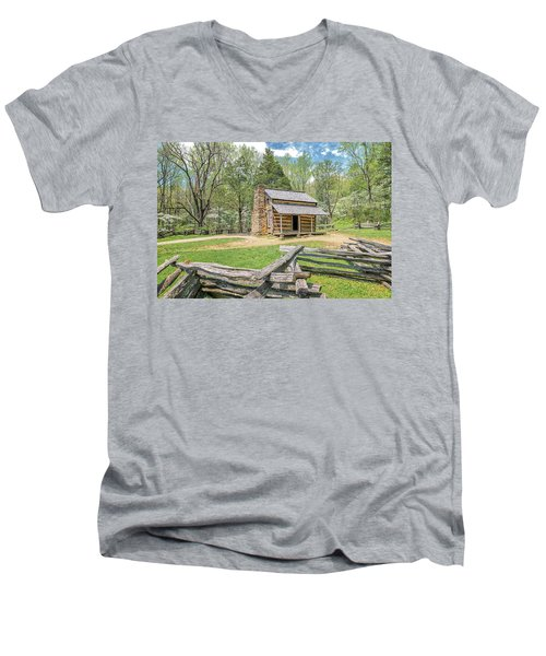 John Oliver Cabin Men's V-Neck T-Shirt