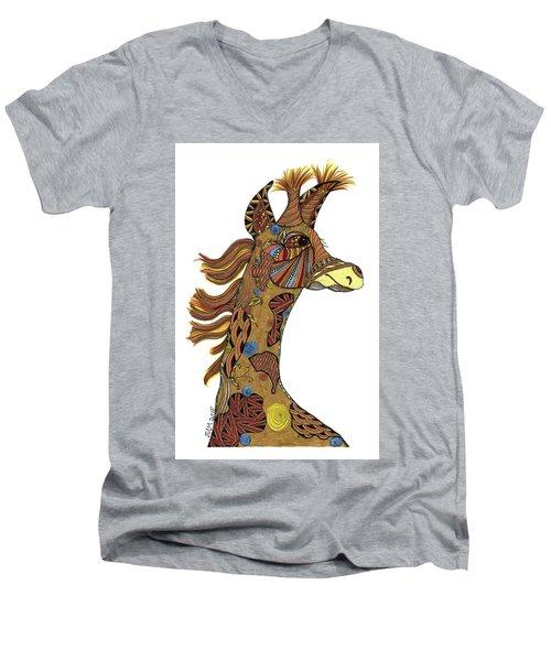 Josi Giraffe Men's V-Neck T-Shirt