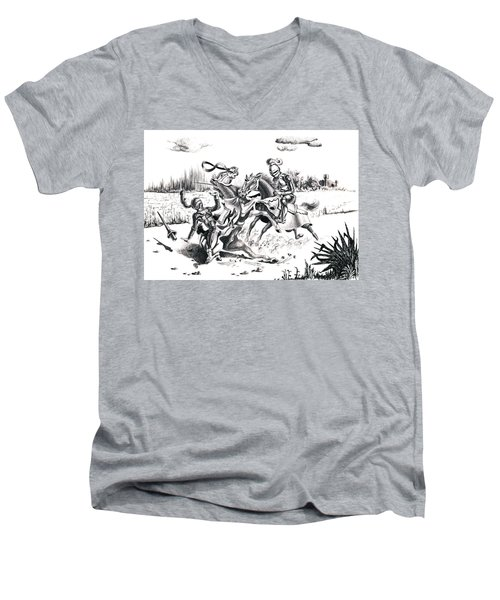 Joust Men's V-Neck T-Shirt