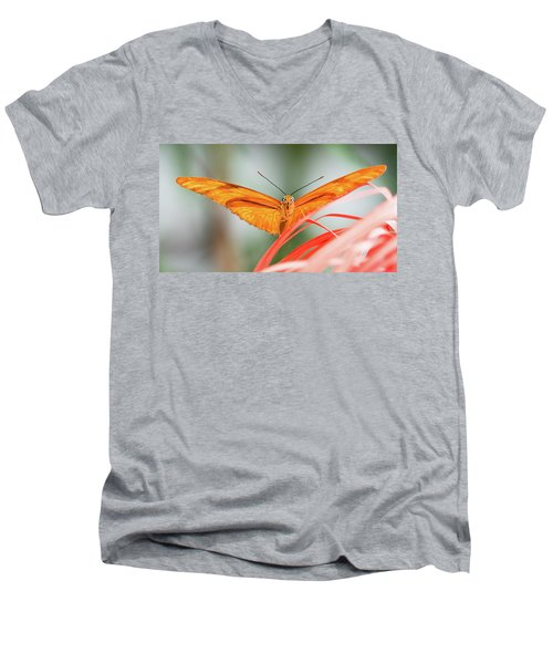 Julia Butterfly Men's V-Neck T-Shirt