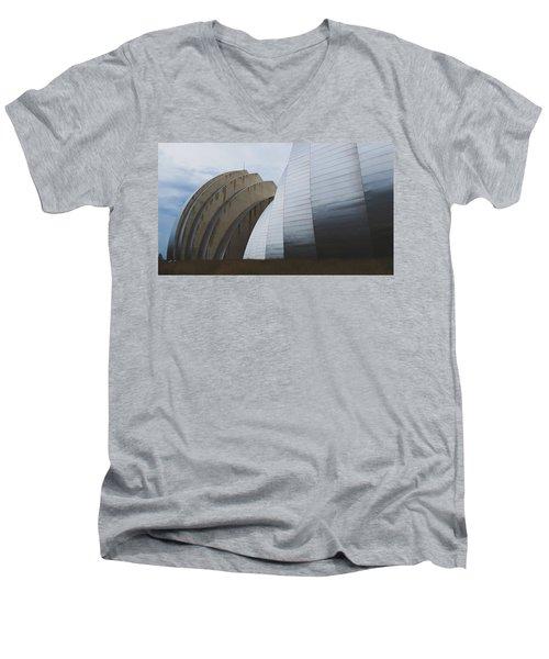 Kauffman Performing Arts Center Men's V-Neck T-Shirt