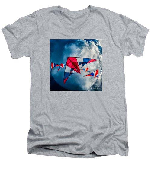 Kites Men's V-Neck T-Shirt