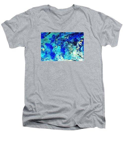 Koi Abstract Men's V-Neck T-Shirt