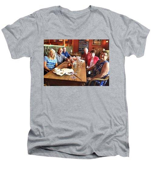 Lassen Hall Reunion Men's V-Neck T-Shirt