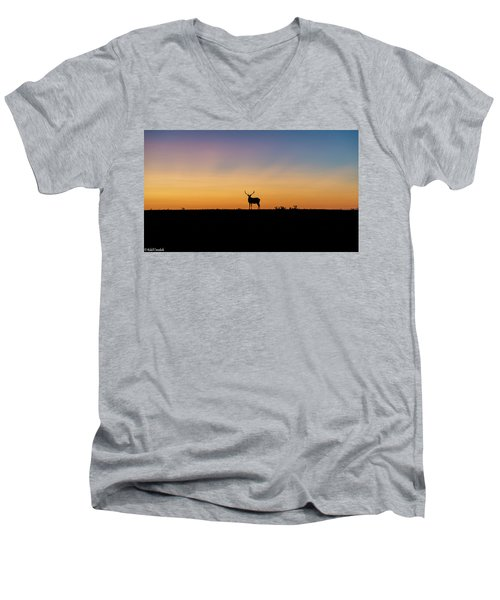 Last Light Men's V-Neck T-Shirt