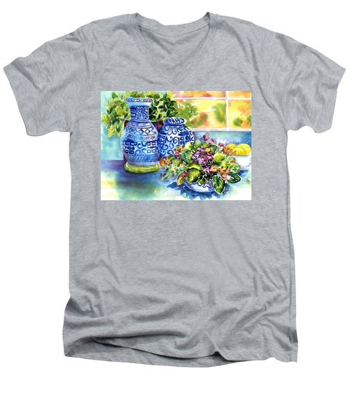 Late Afternoon Men's V-Neck T-Shirt
