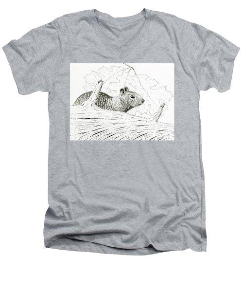 Laying Low Men's V-Neck T-Shirt