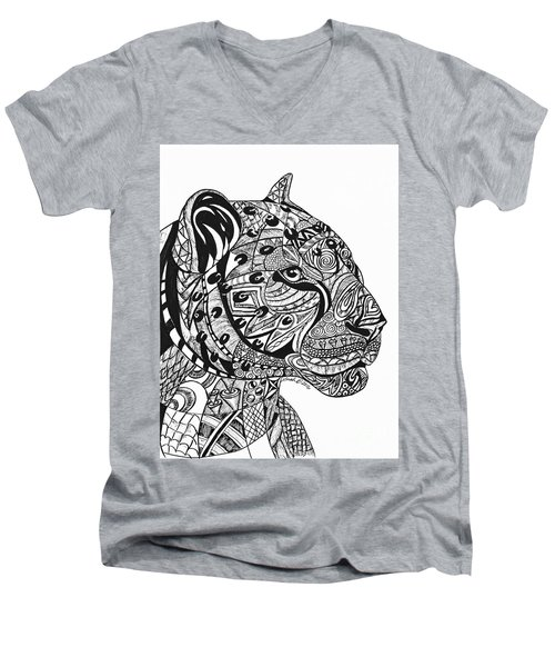 Leopards Men's V-Neck T-Shirt