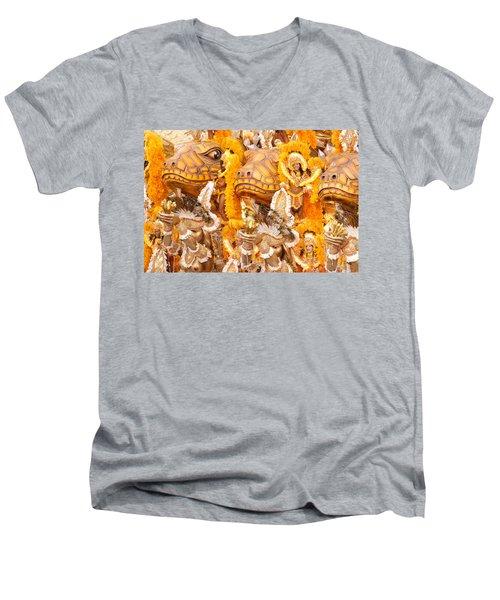 Lets Samba Men's V-Neck T-Shirt
