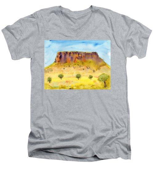 Little Table Mountain Men's V-Neck T-Shirt