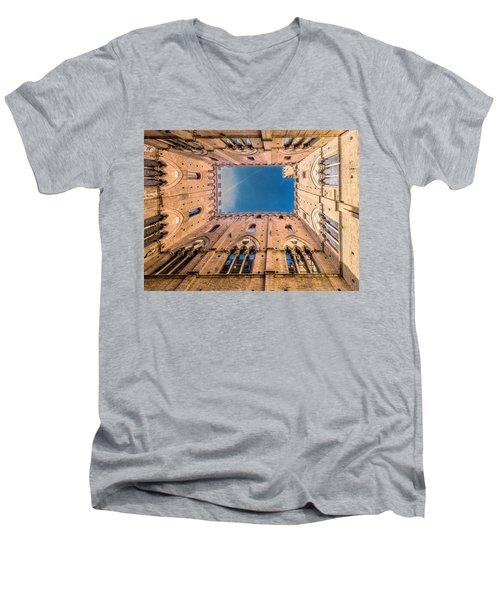 Looking Skyward Men's V-Neck T-Shirt