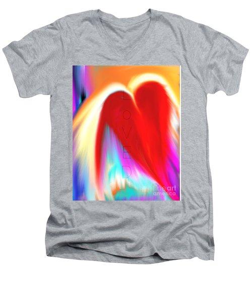 Loved Men's V-Neck T-Shirt