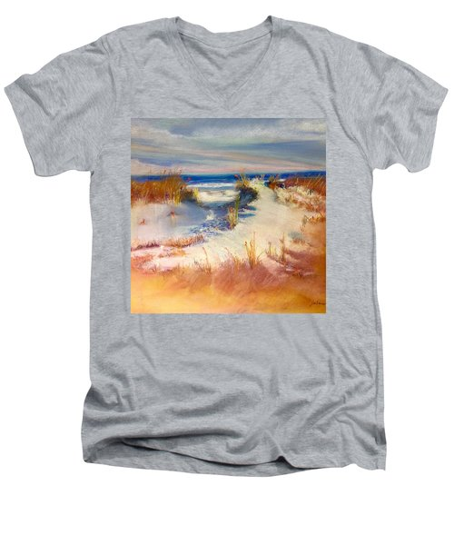 Lovers Key Men's V-Neck T-Shirt
